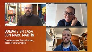 'Quédate en casa con Marc Martín', programa 19: Teresa Perales y Alberto Seoane