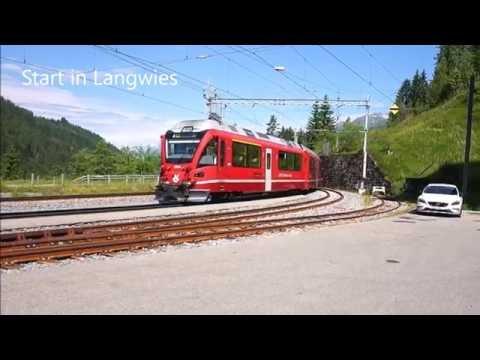 Walserweg Etappe 17 - Langwies bis Cortenser Schwendi