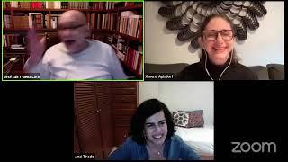 """""""Charla 8M-21 Del muro al memorial"""" charla con Anaí Tirado y Ximena Apisdorf"""