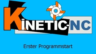 KinetiC-NC - Erster Start - Plug&Play Parameter Laden
