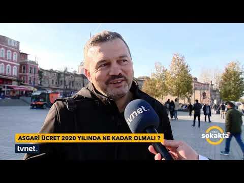 TVNET Sokakta - Asgari Ücret 2020 Yılında Ne Kadar Olmalı?