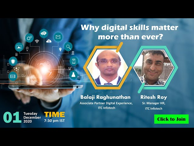 Vidcast - Why digital skills matter more than ever