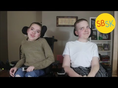 Siblings with Spinal Muscular Atrophy (High School Lunch with a Disability)