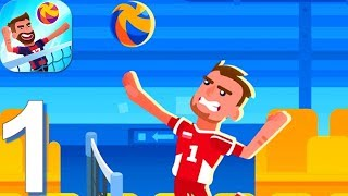 Volleyball Challenge - volleyball game | Walkthrough Part 1 - (Android, iOS Gameplay)