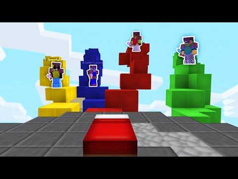 The 'Bridge-Egg Firing Squad' Strategy In Bedwars