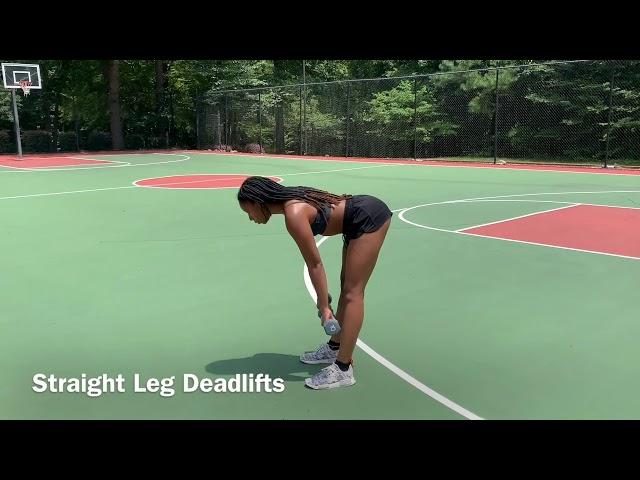 Straight Leg Deadlifts