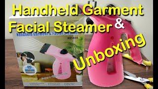Garment and facial / Hair steamer unboxing - Best facial Steamer under budget