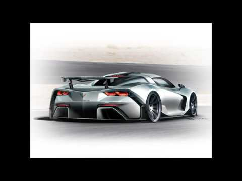 Mid Engine Corvette design suggestion