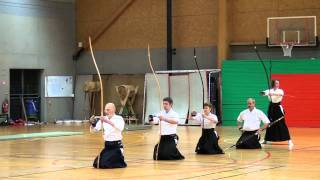 Kyudo 弓道 - shinsa no maai
