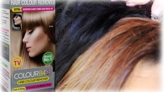 BLACK TO BROWN IN ONE DAY | COLOUR B4