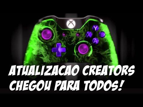 XBOX - ATUALIZAÇÃO CREATORS CHEGOU PARA TODOS E É TOP DEMAIS !!!
