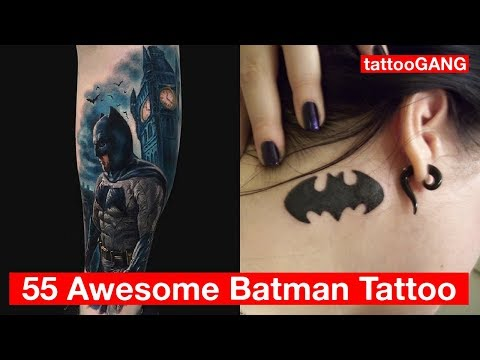 55 Awesome Batman Tattoo Designs