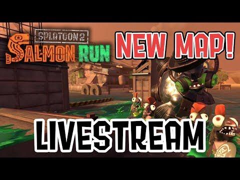 Splatoon 2 — Lost Outpost Salmon Run Gameplay Livestream