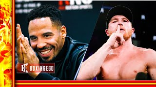 NO WAY! CANELO ALVAREZ VS. ANDRE WARD!!! OSCAR DE LA HOYA SAYS CANELO MAY CHOOSE THAT