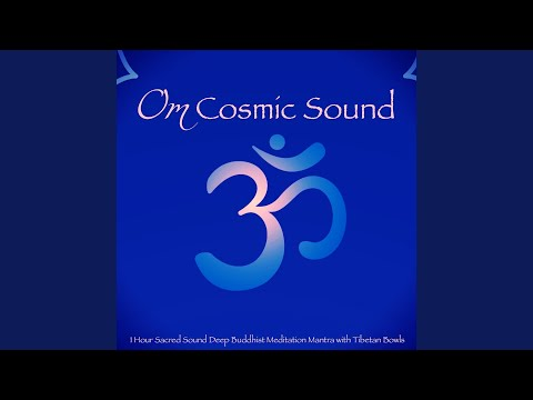 OM Chanting - Meditative Sacred Sound Tibetan Monks OM with Tibetan Bowl to Open Your Mind &...