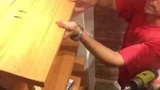 DIY Closet Shoe Rack - Timelapse
