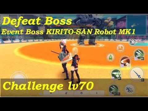 SAO IF - KIRITO-SAN Robot MK1 [Lv70 Challenge/Solo/Rapier]