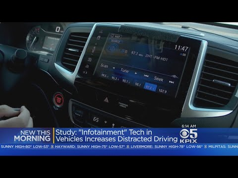 AAA Study Finds Drivers Increasingly Distracted By Dashboard Tech
