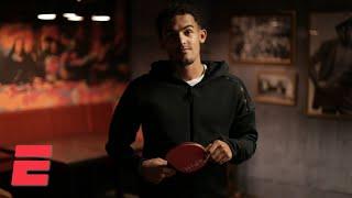 Trae Young looks forward to his sophomore season, plays Maria Taylor in ping-pong | NBA on ESPN