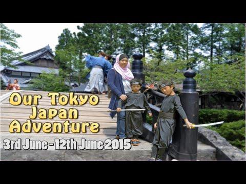 Japan Trip 2015 (3rd June - 12th June 2015)