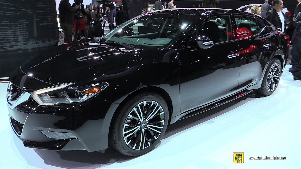 2016 Nissan Maxima Sv Exterior And Interior Walkaround Debut At 2017 New York Auto Show