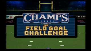 Arena Football Road To Glory Game The Field Goal Challenge
