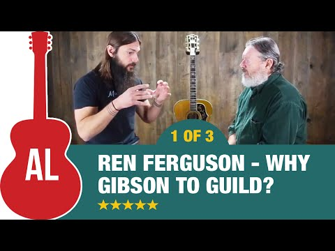 Ren Ferguson The Real Story of Gibson to Guild (Part 1)