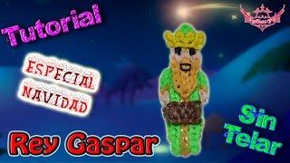 ♥ Tutorial[ESPECIAL NAVIDAD]: Rey Gaspar (sin telar) ♥