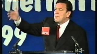 Gerhard Schröder am politischen Aschermittwoch 1999
