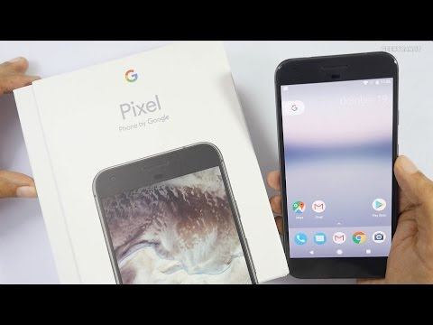 Google Pixel XL Smartphone Unboxing & Overview (Indian Unit)