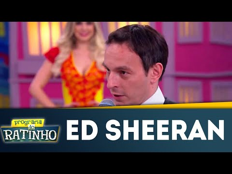Clima De Romance: Ed Sheeran No Dez Ou Mil! | Programa Do Ratinho (09/07/2018)
