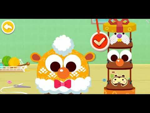 May Mũ Len Cho Bạn Gấu Trúc Và May áo Khoác Cho Bạn Thỏ