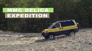 Mitsubishi Delica SunVoyager.  Большой обзор делики для внедорожных путешествий.