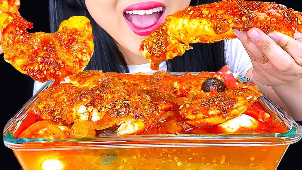 ASMR DESHELLED KING CRAB & LOBSTER SEAFOOD BOIL MUKBANG | Eating Show | ASMR Phan