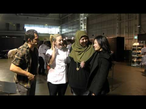 Kylie, Amina, Audra from Masterchef chat to Alastair McLeod | Good Food & Wine Show 2012