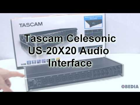 Tascam US20X20 Audio Interface Overview