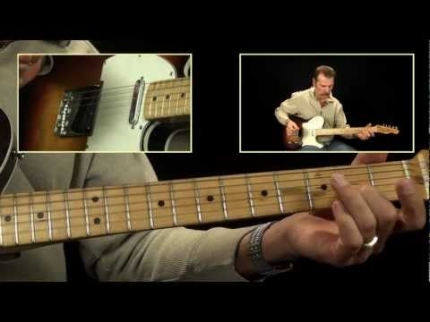 Guitars And Cadillacs Guitar Lick Idea - Country Guitar Chops