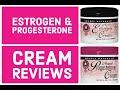 Review for estrogen & progesterone cream. Bio hrt