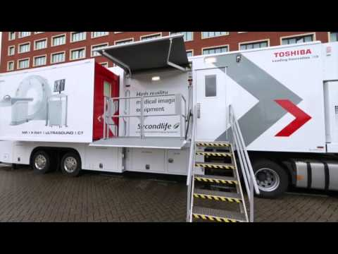 Toshiba Launches Mobile CT Scanner Service In The UK