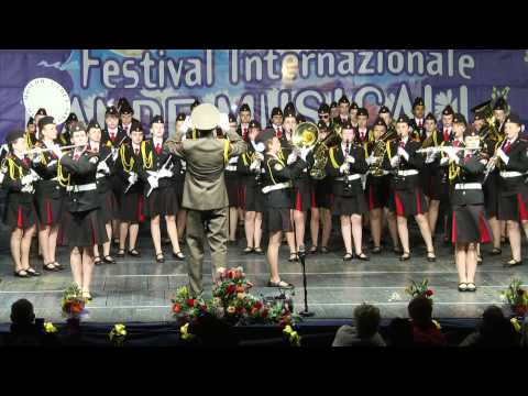 THE BAND OF MOSCOW CADET GIRLS MUSIC OF SCHOOL - XIV Festival Bande Musicali