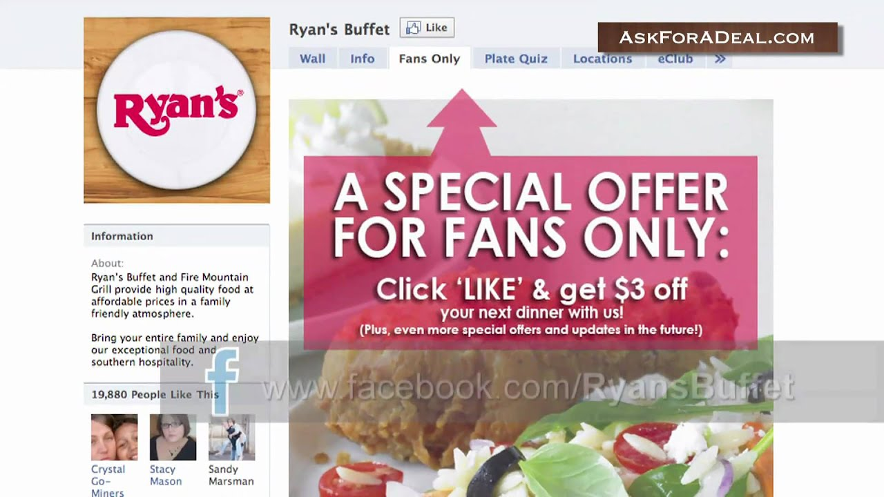 picture relating to Ryans Printable Coupons referred to as Discount coupons ryans steakhouse