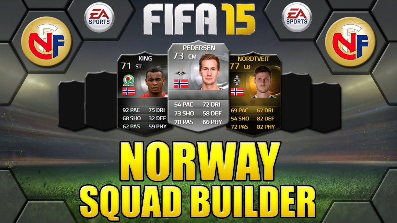 Norway team fifa fifa 18 sleeves