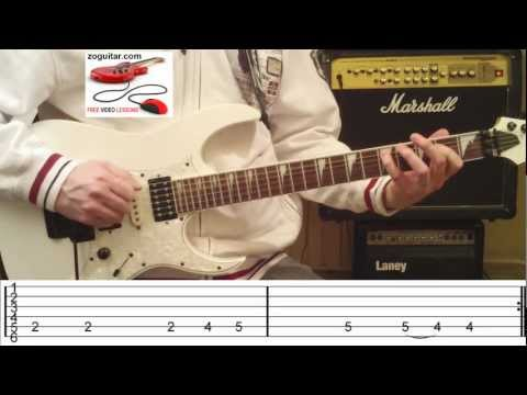 How To Play Satisfaction by The Rolling Stones on Guitar (intro riff + TAB)