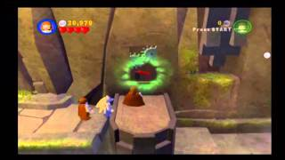 Lego Star Wars The Video Game - Walkthrough [W1] The Phantom Menace [E2] Invasion of Naboo