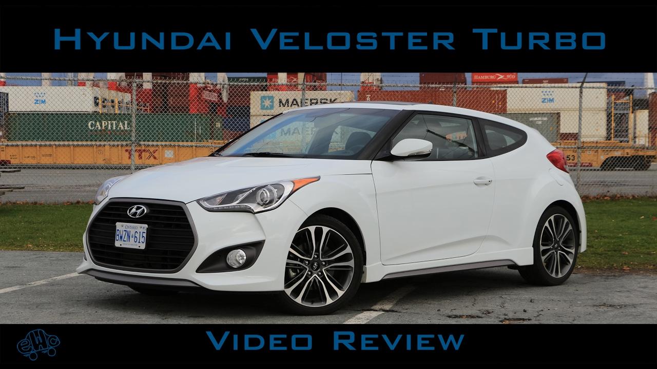 2016 hyundai veloster turbo fwd. 2016 Hyundai Veloster Turbo Review Youtube