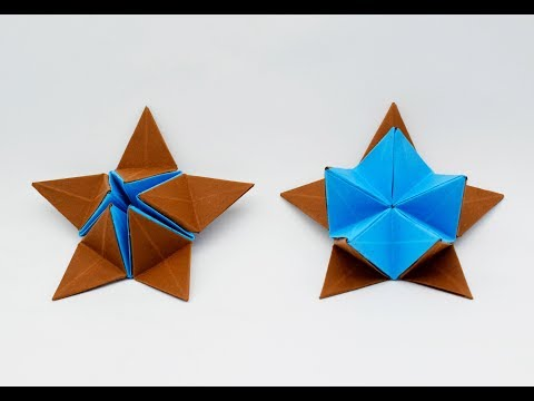 How to make a paper Star? (Opening)