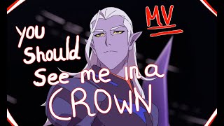 you should see me in a crown | Allura and Lotor | Voltron LD