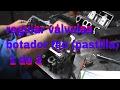 regular válvulas , culata  taques mecanico (regular valvulas medalla fija)