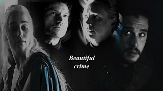 couples game of thrones Beautiful crime
