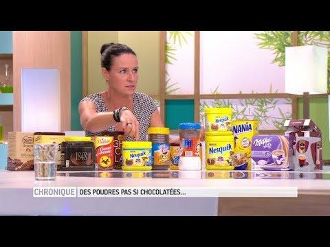 Quel chocolat en poudre choisir : nesquik, poulain, banania
